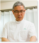 鍼灸師田代 一義(たしろ かずよし)